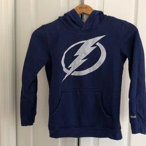 Reebok Shirts & Tops - Reebok NHL TB Lightning Sweatshirt